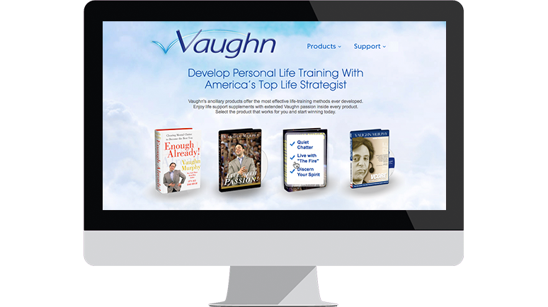 Vaughn Murphy's Website Case Study
