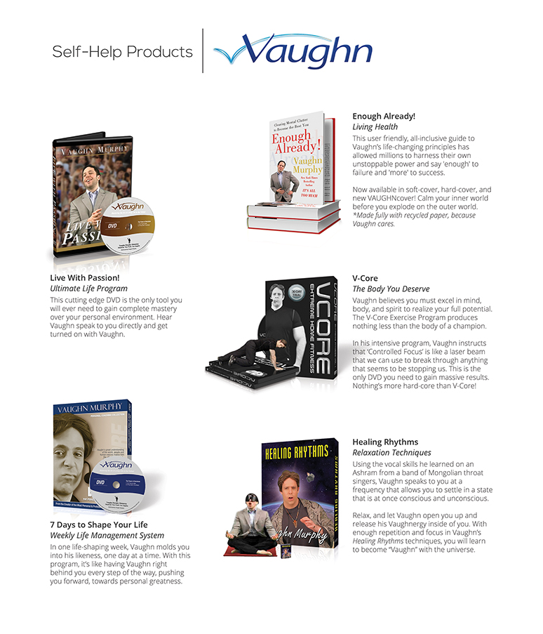 Self-Help Products by Vaughn (GetItOnWithVaughn.com)