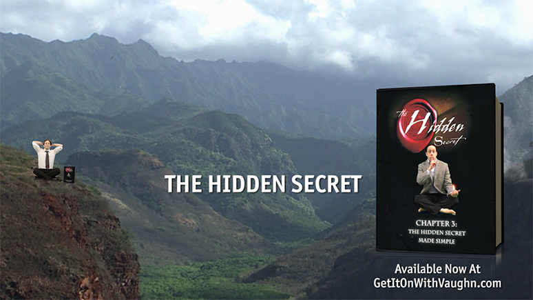 The Hidden Secret by Vaughn Murphy web advertisement